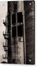 Stairs To Nowhere Acrylic Print by Jim Markiewicz