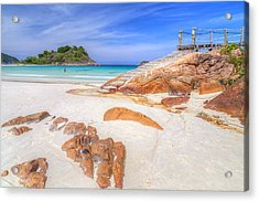 Stairs To Paradise  Acrylic Print by Mario Legaspi
