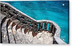 Stairs To The Sea Acrylic Print