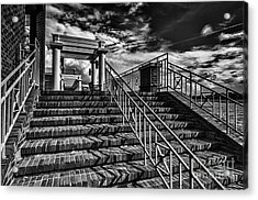 Stairway At Montgomery Museum Of Fine Arts Acrylic Print