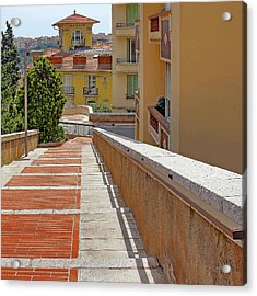 Stairway In Monaco French Riviera Acrylic Print
