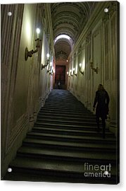 Acrylic Print featuring the photograph Stairway  by Robin Maria Pedrero