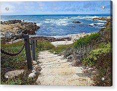 Stairway To Asilomar State Beach Acrylic Print