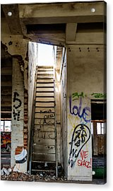 Stairway To Heaven? I Don't Think So... Acrylic Print