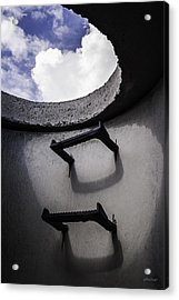 Acrylic Print featuring the photograph Stairway To Heaven - Inside Out by Steven Milner