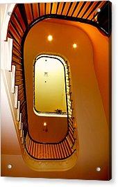 Stairway To Heaven Acrylic Print by Karen Wiles