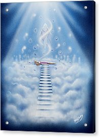 Stairway To Heaven Acrylic Print by Nickie Bradley