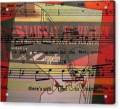 Stairway To Heaven Acrylic Print by Patricia Januszkiewicz