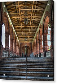 Stairway To History Acrylic Print