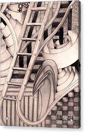 Stairway To.... Acrylic Print by John Stuart Webbstock
