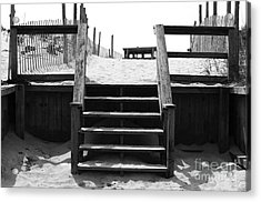Stairway To Lbi Heaven Acrylic Print by John Rizzuto