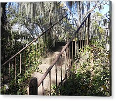 Stairway To Nowhere Acrylic Print by Patricia Greer