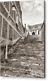 Stairway To Salvation  Acrylic Print by Olivier Le Queinec