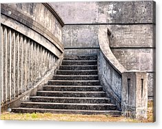 Stairway To The Unknown Acrylic Print by Sandra Bronstein