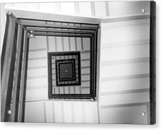 Acrylic Print featuring the photograph Stairwell by Tarey Potter
