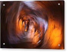 Stalactite Cave Acrylic Print by Doc Braham