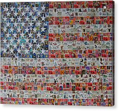 Stamps And Stripes Renegade Colony Acrylic Print by Gary Hogben