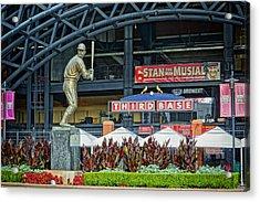 Stan Musial Statue At Busch Stadium St Louis Mo Acrylic Print