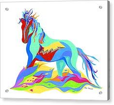 Stand Acrylic Print