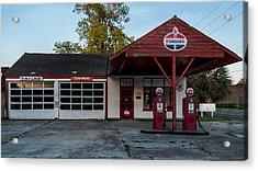 Standard Gas Station Acrylic Print