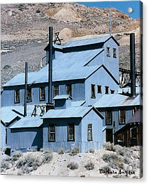 Standard Mill At Bodie Acrylic Print by Barbara Snyder