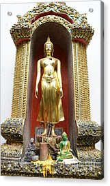 Standing Buddha Acrylic Print by Gregory Smith