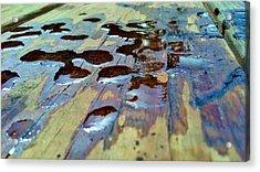 Standing Drops Acrylic Print