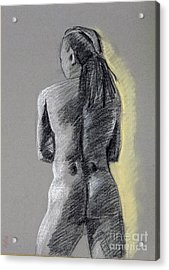 Standing Male Back Acrylic Print