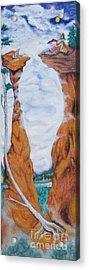 Standing Rock Dragon Acrylic Print
