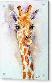 Standing Tall_giraffe Acrylic Print