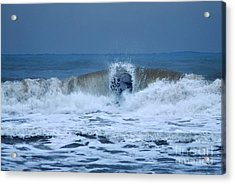 Dancing Of The Waves Acrylic Print by Erhan OZBIYIK