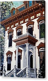 Stanford Mansion Acrylic Print by Paul Guyer