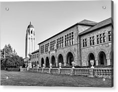 Stanford University In Black And White Acrylic Print