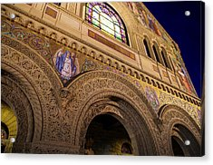 Stanford University Memorial Church Faith Acrylic Print by Scott McGuire