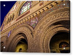 Stanford University Memorial Church Hope Acrylic Print by Scott McGuire