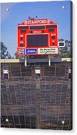 Stanford University Stadium In Palo Acrylic Print