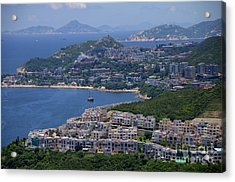 Acrylic Print featuring the photograph Stanley Bay  by Sarah Mullin