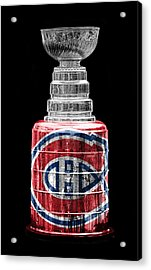 Stanley Cup 7 Acrylic Print by Andrew Fare