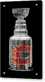 Stanley Cup Calgary Acrylic Print