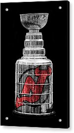 Stanley Cup New Jersey Acrylic Print