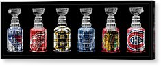 Stanley Cup Original Six Acrylic Print by Andrew Fare