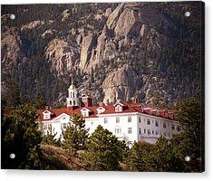 Stanley Hotel Estes Park Acrylic Print by Marilyn Hunt