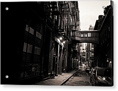 Staple Street - Tribeca - New York City Acrylic Print by Vivienne Gucwa