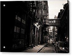 Staple Street - Tribeca - New York City Acrylic Print