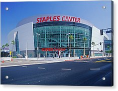 Staples Center, Home To The Nbas Los Acrylic Print