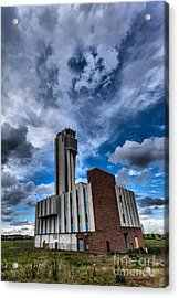 Stapleton International Airport Acrylic Print