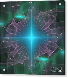 Star 2 Acrylic Print by Ursula Freer