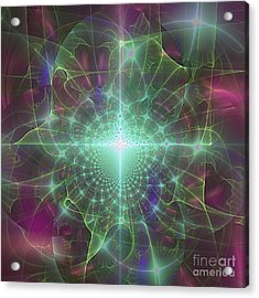 Star 5 Acrylic Print by Ursula Freer