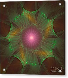 Star 6 Acrylic Print by Ursula Freer
