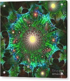 Star 9 Acrylic Print by Ursula Freer